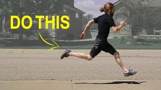 Do This While Running To Reduce Joint Impact By 20% (NOT Foot Strike) - How To Run
