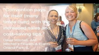 Join your floral industry peers to connect, learn and grow!