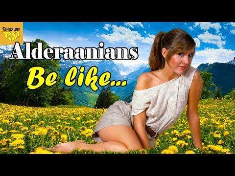 Alderaanian Stereotypes