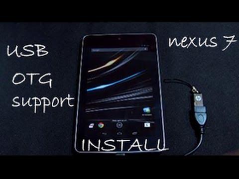 How to Enable USB OTG On Nexus 7