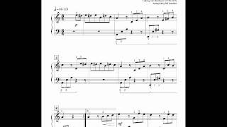 Fur Elise sheet music full version (easy reading) and free mp3 download for piano
