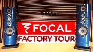 Focal Factory Tour: Building Studio Monitors From Scratch - Warren Huart: Produce Like A Pro