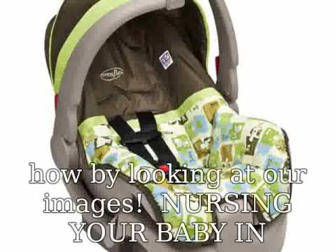 Evenflo Infant Car Seat Replacement Covers - YouTube