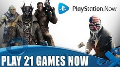 Play These 21 Amazing PS4 Games Instantly - On PlayStation Now