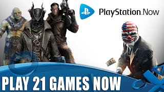 Play These 21 Amazing Ps4 Games Instantly   On Playstation Now