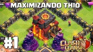 Que Mejorar Primero en TH10   Por Fin!!! #1 - MAXIMIZANDO TH10 - CLASH OF CLANS