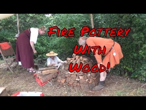 Wood Fired Pottery Kiln Made With Mud
