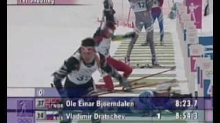Biathlon - Men's 10Km - Nagano 1998  Winter Olympic Games