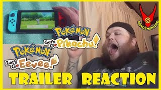 Pokémon: Let's Go, Pikachu and Eevee! Trailer REACTION!! OMG!!!