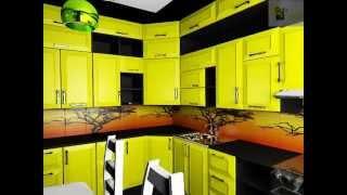Инерционный дизайн кухни контраст красок и их сочетание в интерьере(, 2014-11-05T05:06:13.000Z)