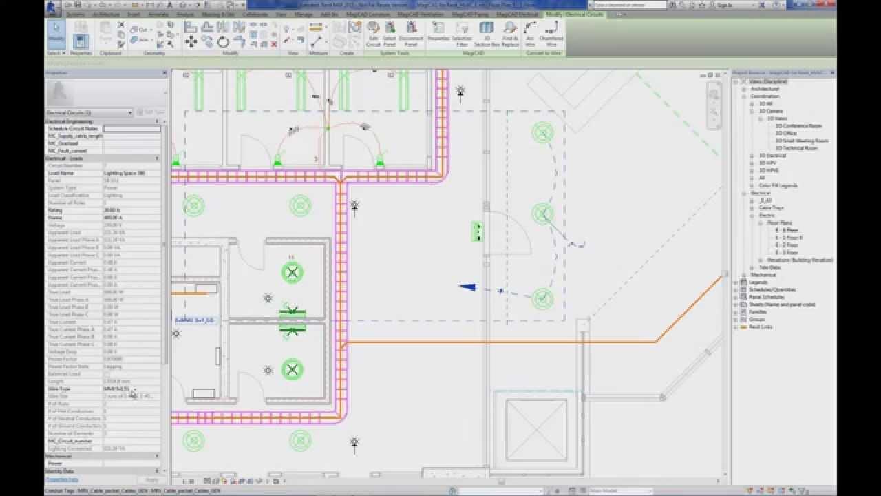 Electrical Design In Revit E Plan Tutorial Photos Of