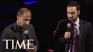Syrian Civil Defense Leader Raed Saleh's Powerful Speech On White Helmets' Impact   TIME 100   TIME