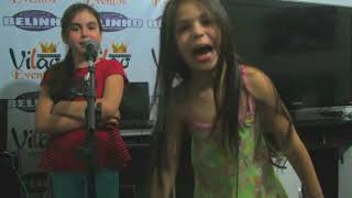 Melody e Bella angel, pequenas ( 8 anos atra  )