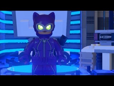 Lego Batman Movie World - CATWOMAN Lexcorp 100% Walkthrough