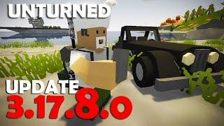 Unturned - UPDATE 3.17.8.0 : Fone de Ouvido, Atualização da Unity, BattlEye e Mais!