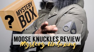 FINALLY!!! MOOSE KNUCKLES  😍 MYSTERY UNBOXING + FULL REVIEW