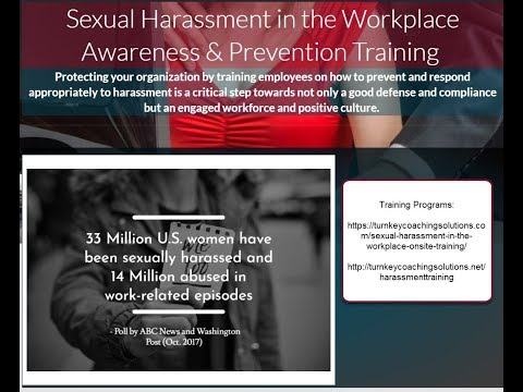 """Sexual Harassment - HR Strategy for the Exploding """"Me Too"""" Workplace Culture"""