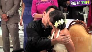 Detrás de cámaras de la boda de Ana Brenda y Jorge Salinas