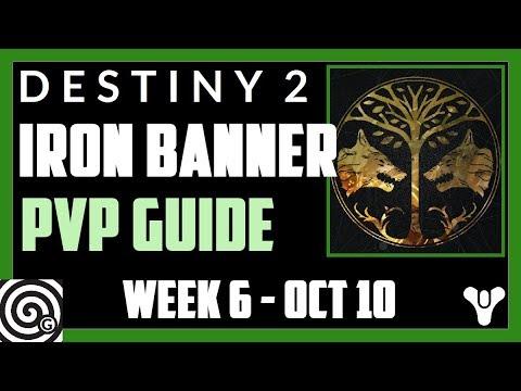 Destiny 2 - A brief Iron Banner PVP Guide