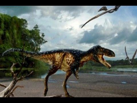 Para Ahli Temukan Kakak Sepupu Tyrannosaurus Rex