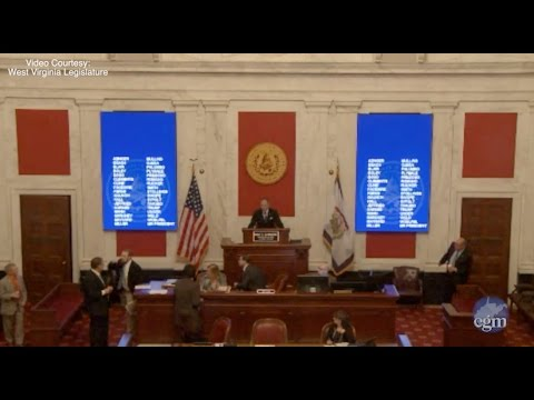 Altercation occurs in West Virginia Senate chambers