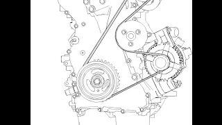 приводной ремень / Ford Focus 2(, 2017-01-21T20:01:46.000Z)