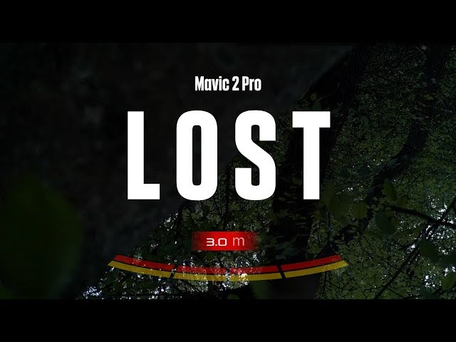 I Lost My Mavic 2 Pro In the Forest...
