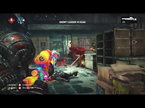 BACK 2 BACK GUARDIAN DESTRUCTION! (Gears of War 4) Multiplayer Gameplay With TheRazoredEdge!