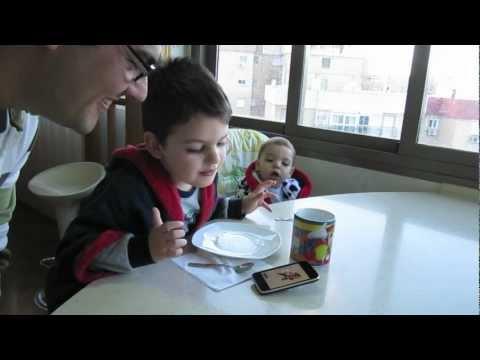 Mi hijo come muy lento - Solucionado!!