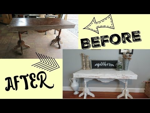 DIY Entry Table | How I Redo Furniture!!