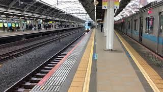 小田急急行(経堂1番線到着)