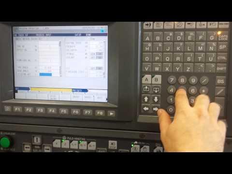 Programming Okuma osp100L