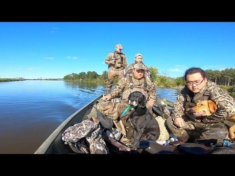 Wisconsin Waterfowl Opener 2019 | Mississippi River