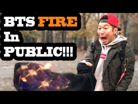 DANCING KPOP IN PUBLIC - BTS FIRE!!!