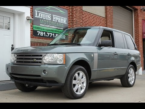 2006 Land Rover Range Rover | Read Owner and Expert Reviews