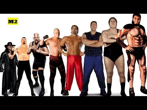 Top 15 Tallest Wrestlers of All Time - Giant Wrestlers WWE/WWF [HD]