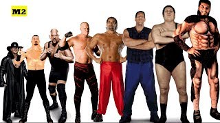 top 10 Tallest Wrestlers in the world of All Time