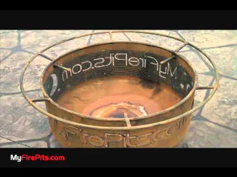 Patina Fire Pit - YouTube