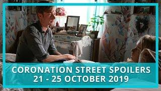Coronation Street (Corrie) spoilers: 19-25 October 2019