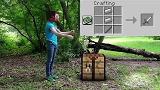 REALISTIC MINECRAFT IN REAL LIFE - MINECRAFT VS REAL LIFE - MINECRAFT ANIMATION IN MINECRAFT