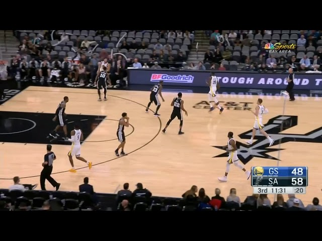 235c89f5f92 Warriors Breakdown  Durant and Thompson aren t enough against the Spurs -  Golden State Of Mind