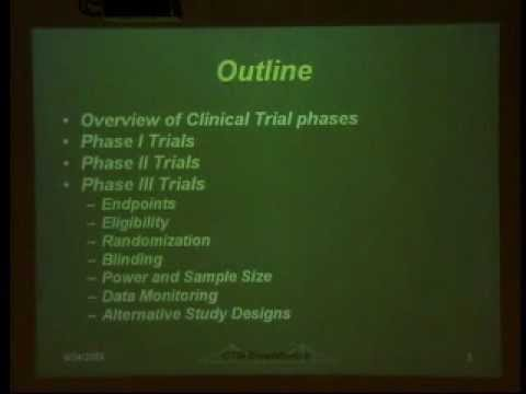 Designing Clinical Trials
