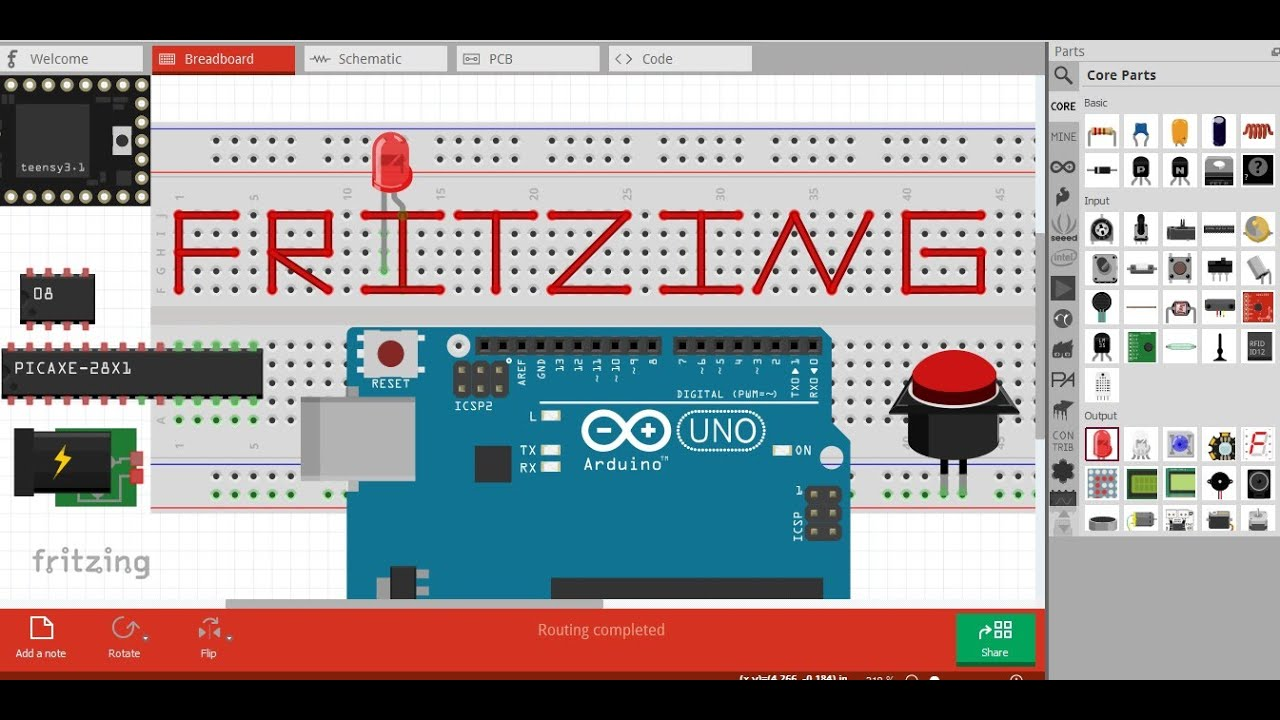 Frtitzing || Computer software to simulate electronics Projects || and  print in pcb