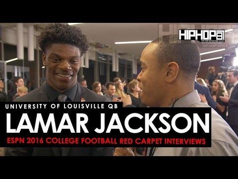 Louisville QB Lamar Jackson Talks Citrus Bowl, the Heisman & More ESPN 2016 College Football Awards
