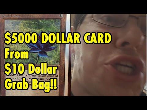 $5000 Black Lotus from $10 grab bag - Magic the Gathering - xBeau Gaming