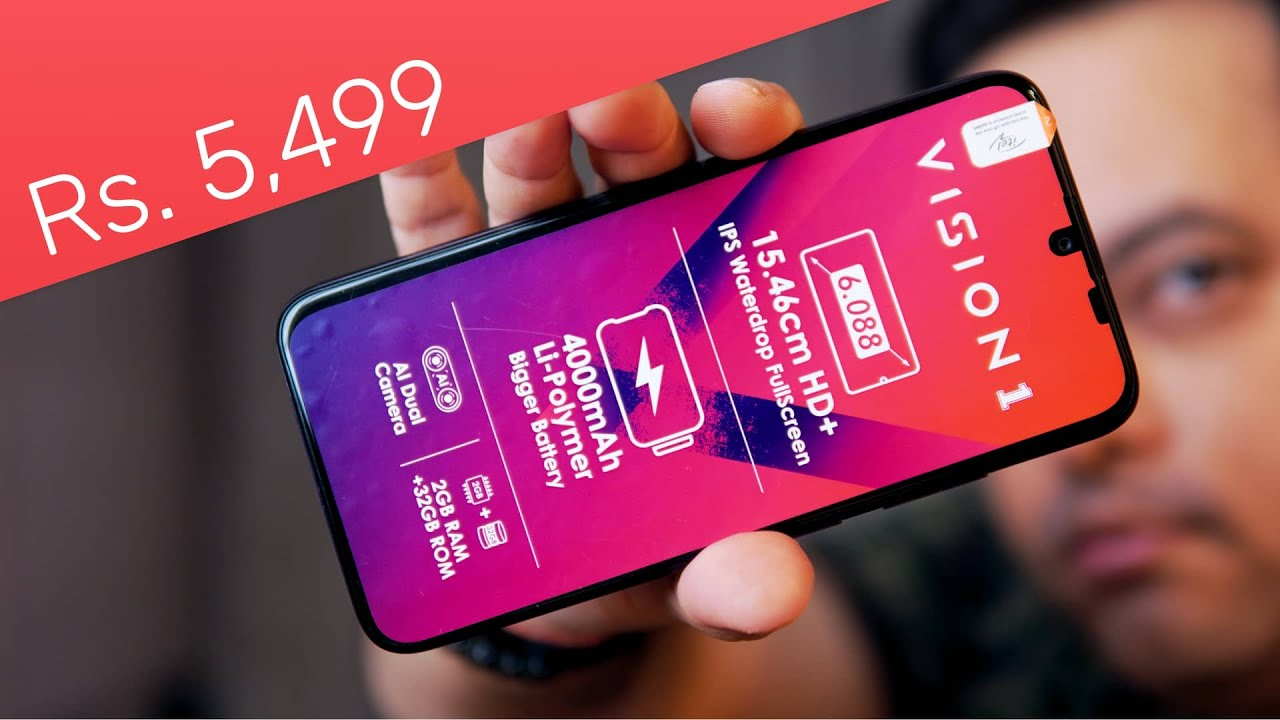 Download Itel Vision 1 unboxing - Best Budget Friendly Smartphone for Rs. 5,499 ⚡🔥
