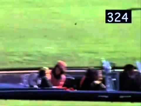 JFK Assassination Revealed FRAME 316 DRIVER THROWS GUN FROM VEHICLE
