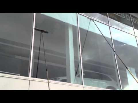 Car Dealership window cleaning | Gold Coast