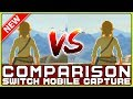 ZELDA COMPARISON Switch Tabletop VS Docked NEW Direct Capture Gameplay mp3