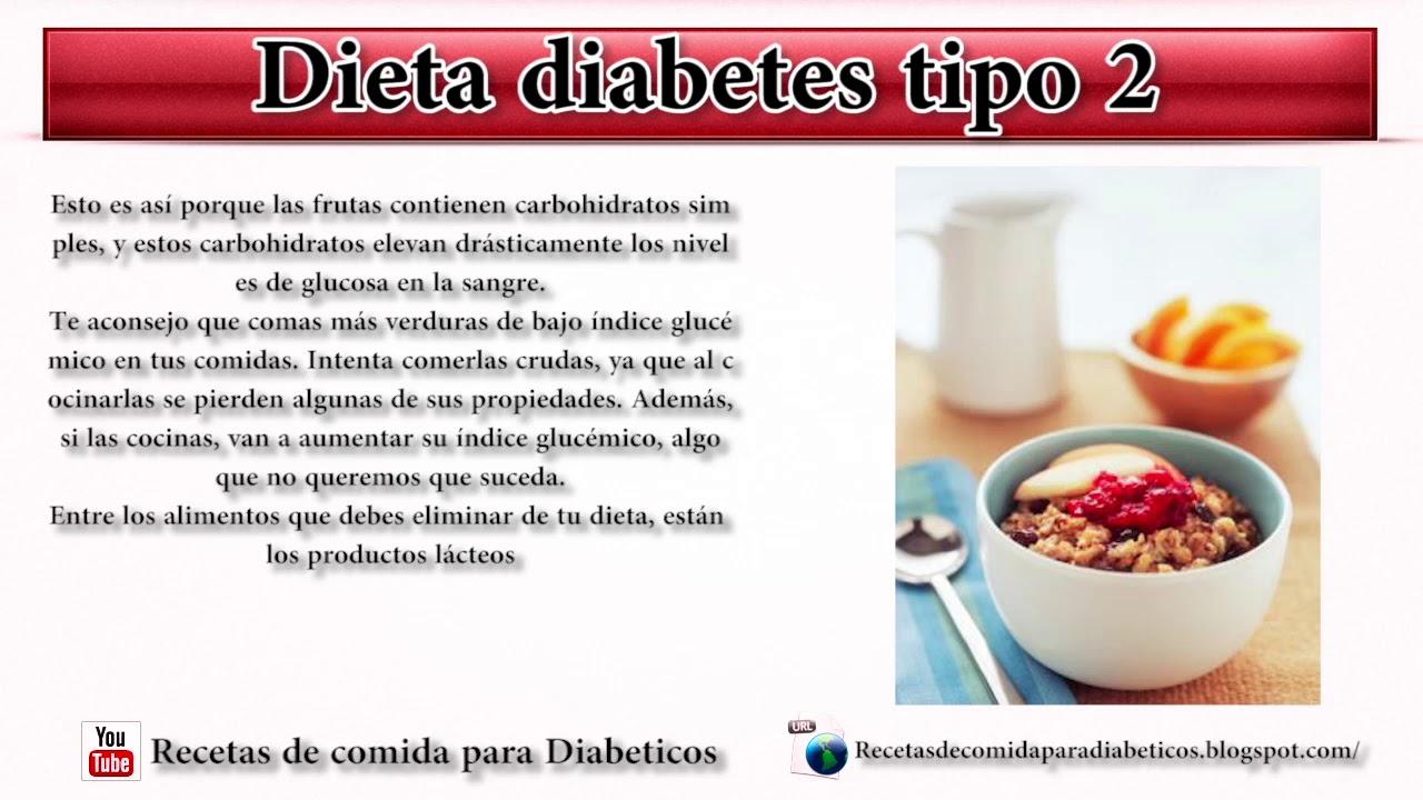 La dieta de los diabeticos